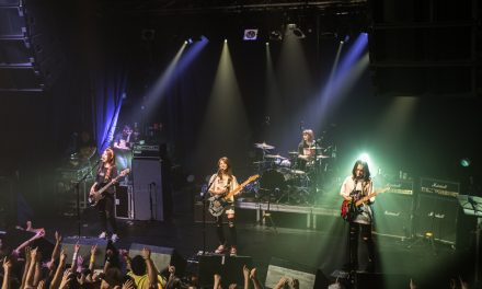 Live photos: J-ROCK group SCANDAL brings 'YELLOW' Tour to Paris!