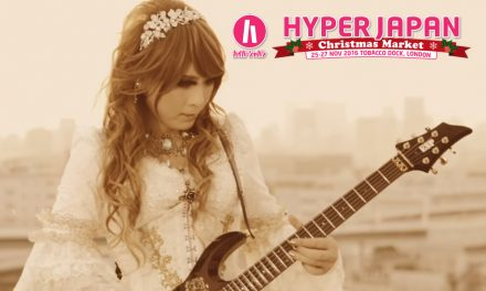 HIZAKI confirmed to perform at HYPER JAPAN Christmas Market!