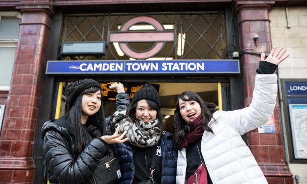Taking Mutant Monster on a tour around Camden Town!