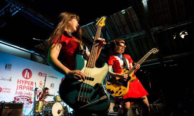 The Tomboys break new ground at HYPER JAPAN Christmas Market!