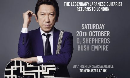 HOTEI announces first London show in three years!!